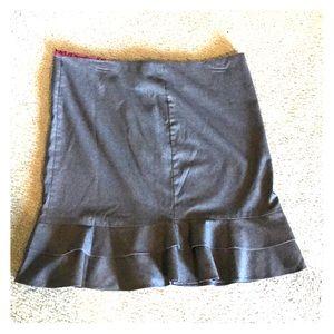 Torrid ruffle pencil skirt